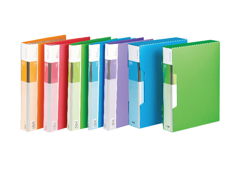 FASCIKLA DELI DISPLAY - CLEAR BOOK NEON 40 lista