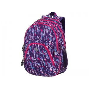 RUKSAK 2in1 TEENS PURPLE COLLISION