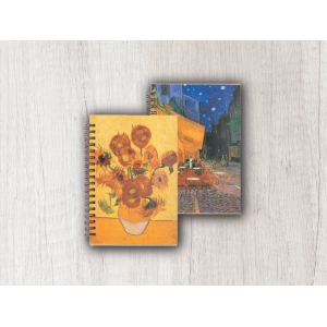 NOTES B6 SPIRALA VAN GOGH ART 410
