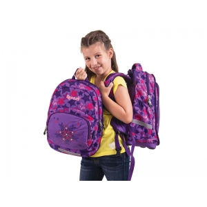 RUKSAK PULSE 2u1 KIDS VIOLET STAR