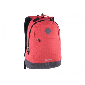 RUKSAK PULSE BICOLOR WARM RED-GRAY
