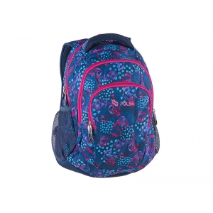 RUKSAK PULSE TEENS BLUE HEART